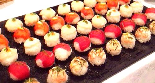 手鞠寿司 ケータリングに行ってきました