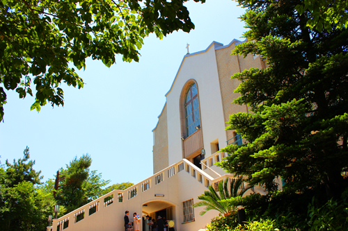 カトリック田園調布教会2 教会ウエディングのケータリング