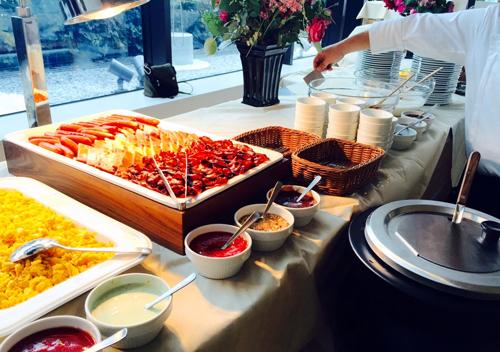 FENDI 朝食3 朝食のケータリング