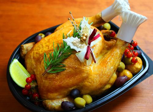 クリスマス まるごとチキン クリスマスのデリバリーセットをご紹介
