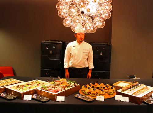 minotti catering 12 イタリアンビュッフェのケータリング