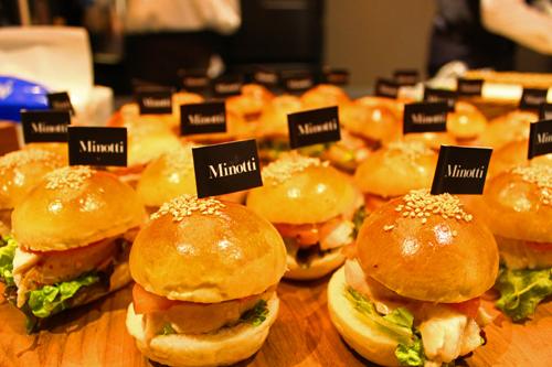 minotti catering 2 イタリアンビュッフェのケータリング